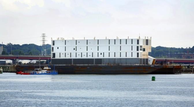 Google Barge Sold For Scrap